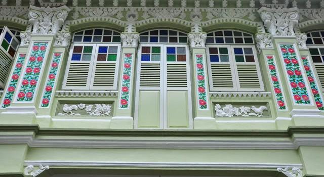 Peranakan Architecture Style